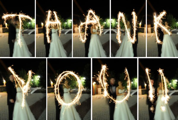 Sparkler Wedding Photos  Ignite Your Night With Sparklers At Your Wedding
