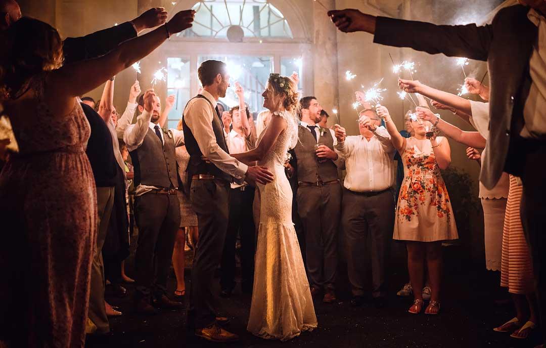 Sparkler Wedding Photos  wedding sparkler photos how to plan a great sparklers shot