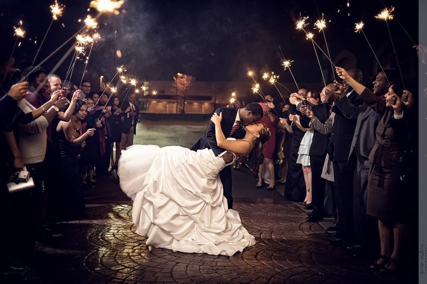 Sparkler Wedding Photos  How the Wrong Sparklers Almost Cost Me My Wedding