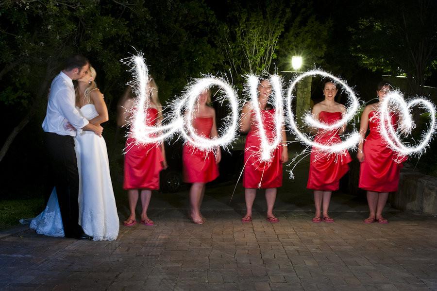 Sparkler Wedding Photos  Sparkling Ideas for Your Wedding