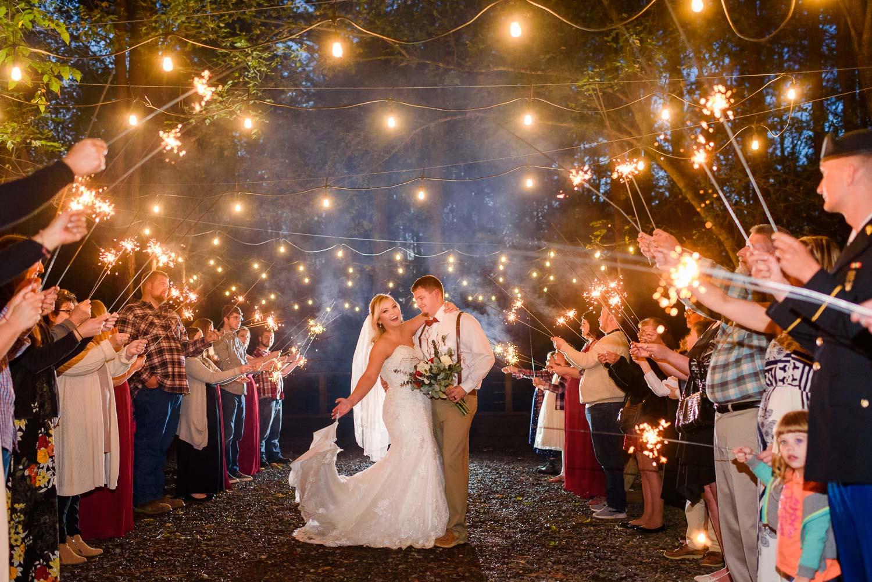 Sparkler Wedding Photos  Wedding Sparklers What kind should I Tips for better