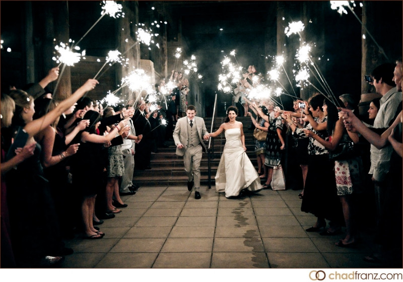 Sparkler Wedding Photos  Gallery