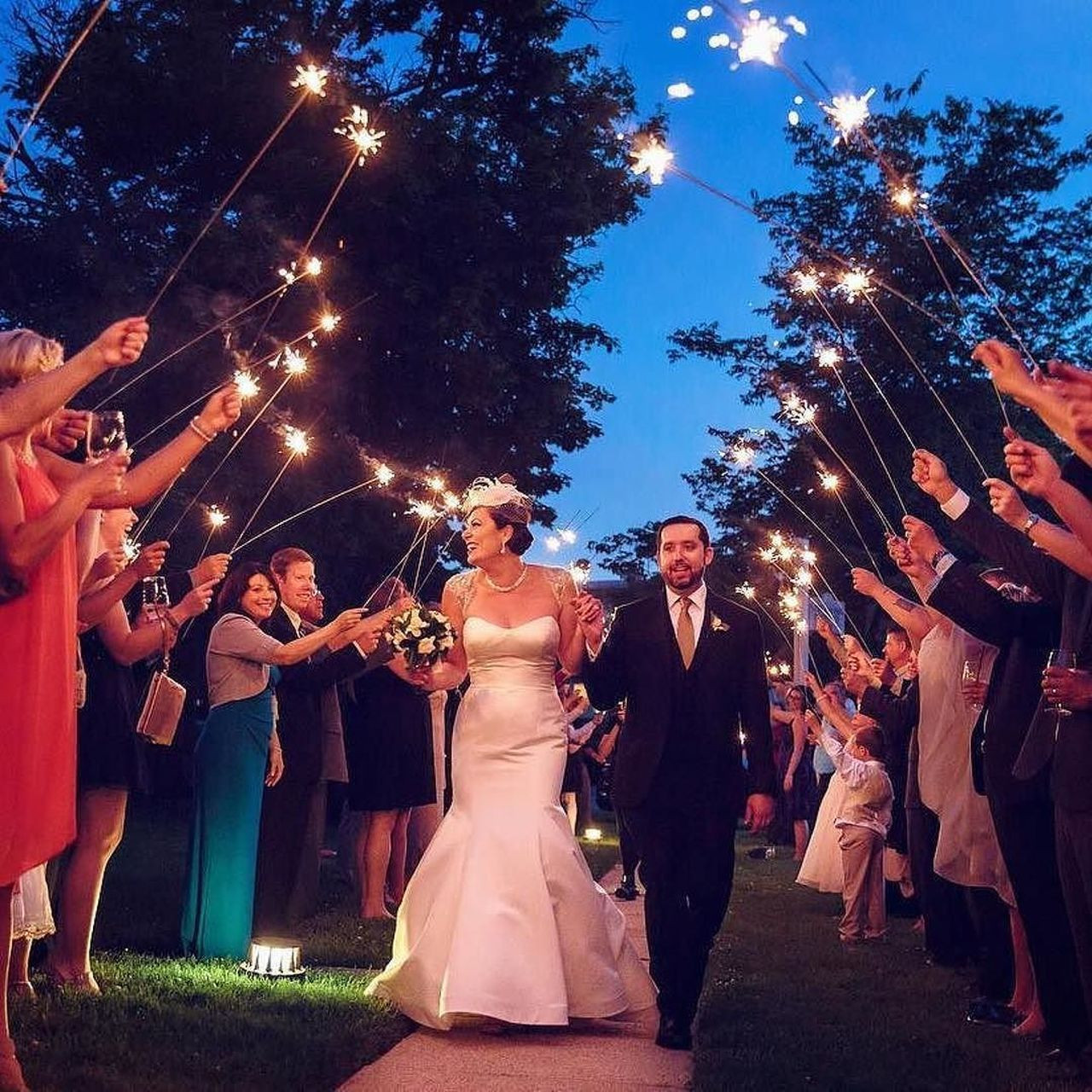"Sparkler Wedding Photos  Wedding Sparklers 36"""
