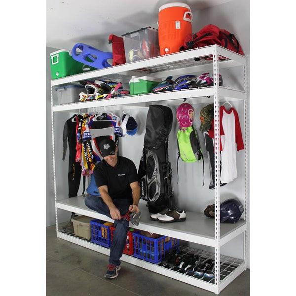 Sports Organizer For Garage  Shop SafeRacks Sports Equipment Organizer Free