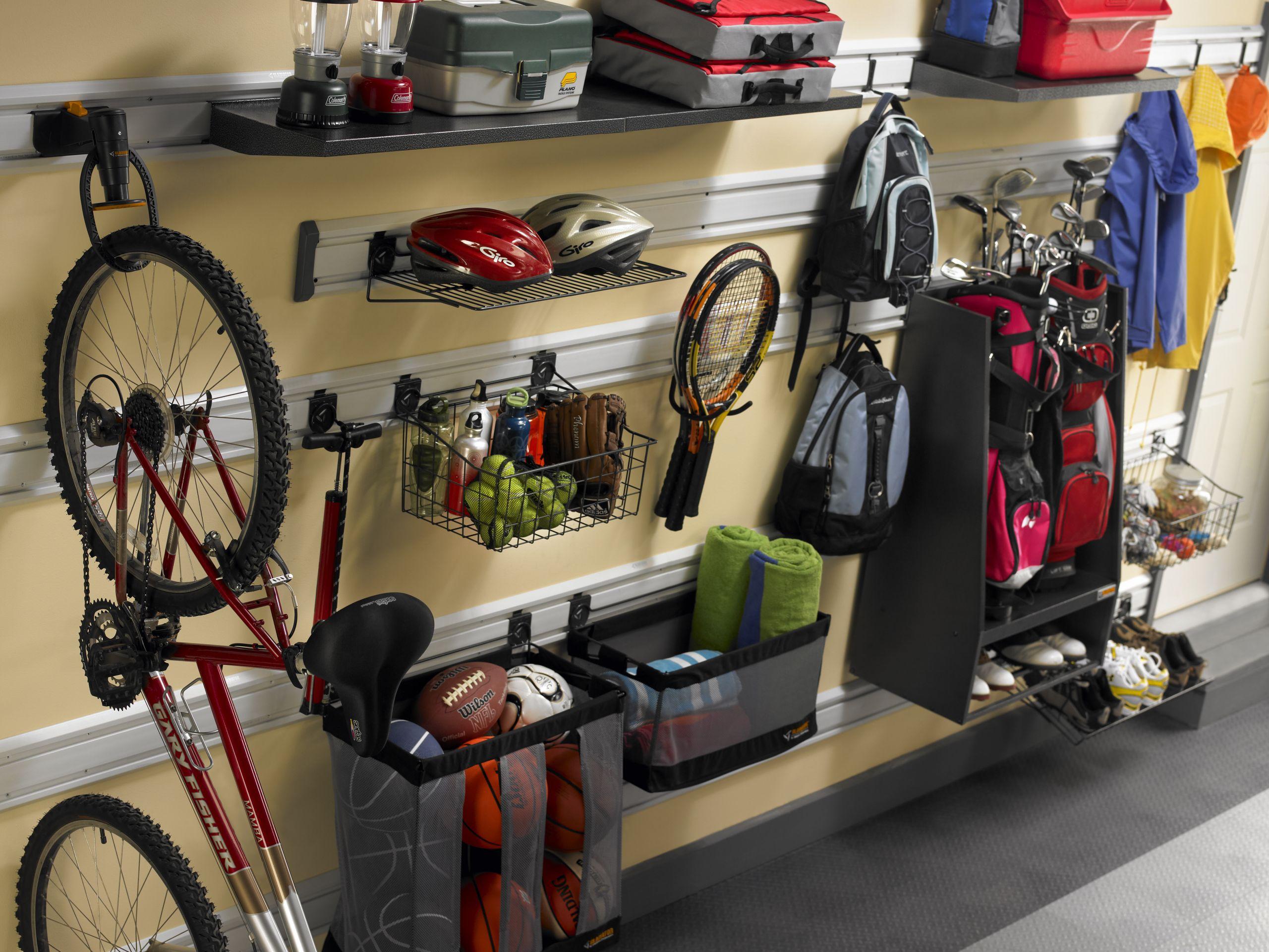 Sports Organizer For Garage  Orlando Garage Storage