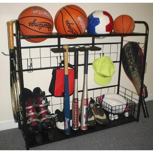 Sports Organizer For Garage  Sports Equipment Organizer in Sports Equipment Organizers