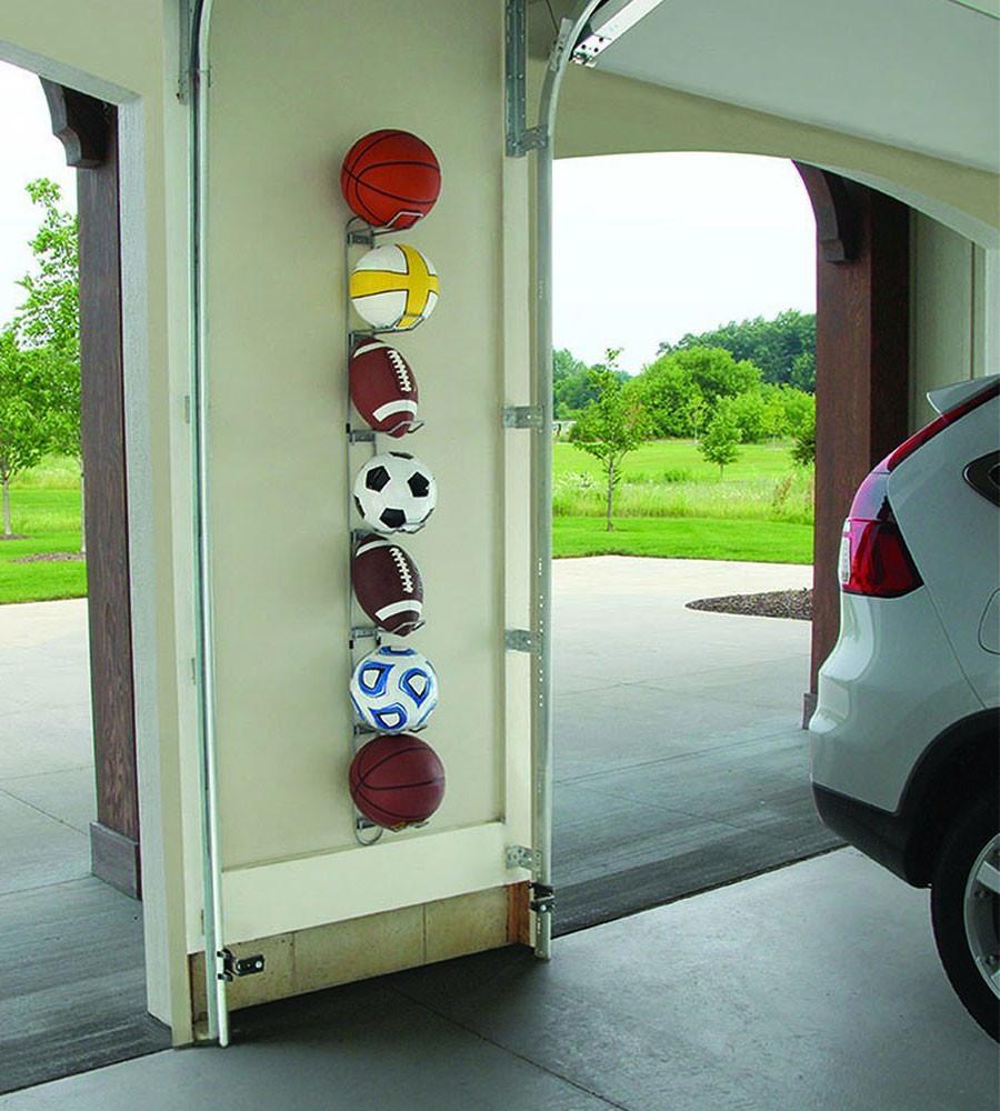 Sports Organizer For Garage  Ball Storage Rack in Sports Equipment Organizers
