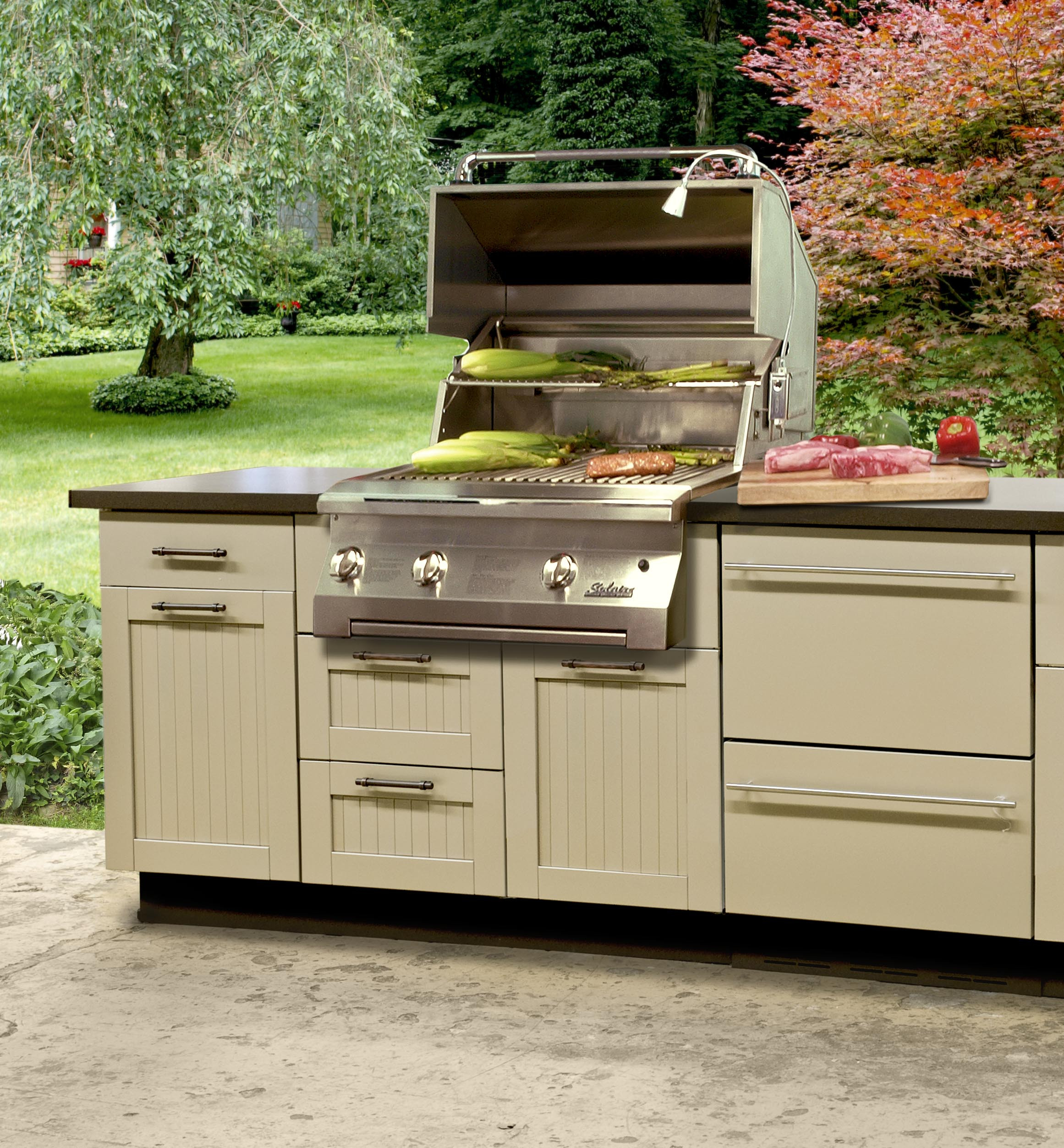 Stainless Outdoor Kitchen  Danver Stainless Steel Cabinetry