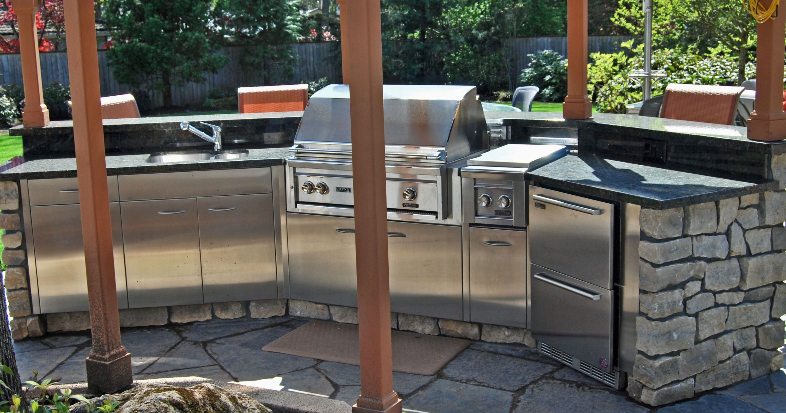 Stainless Outdoor Kitchen  Stainless Steel Outdoor Kitchens