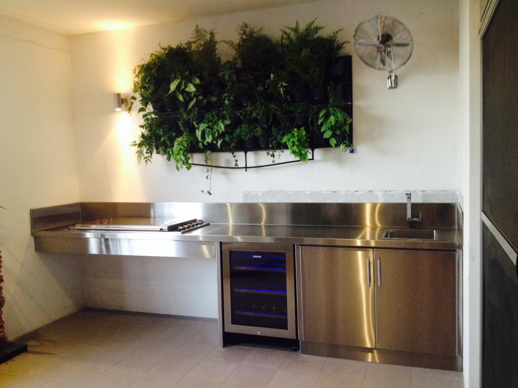 Stainless Outdoor Kitchen  Sheet Metal Fabrication Perth
