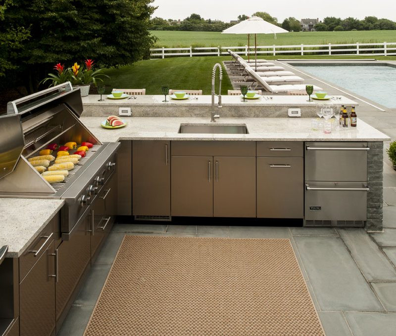 Stainless Outdoor Kitchen  Danver Stainless Steel Outdoor Cabinets