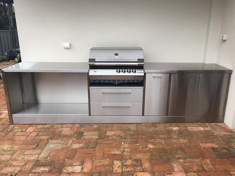 Stainless Outdoor Kitchen  Stainless Steel Outdoor Kitchens Adelaide