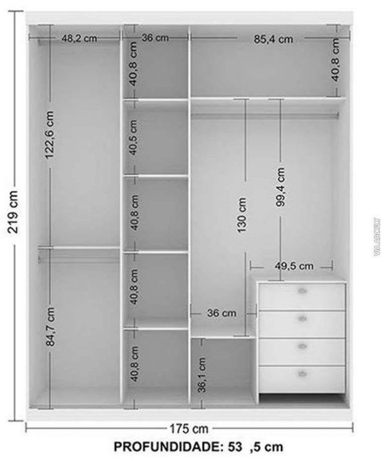 Standard Bedroom Closet Dimensions  Standard Wardrobe Closet Design Guidelines