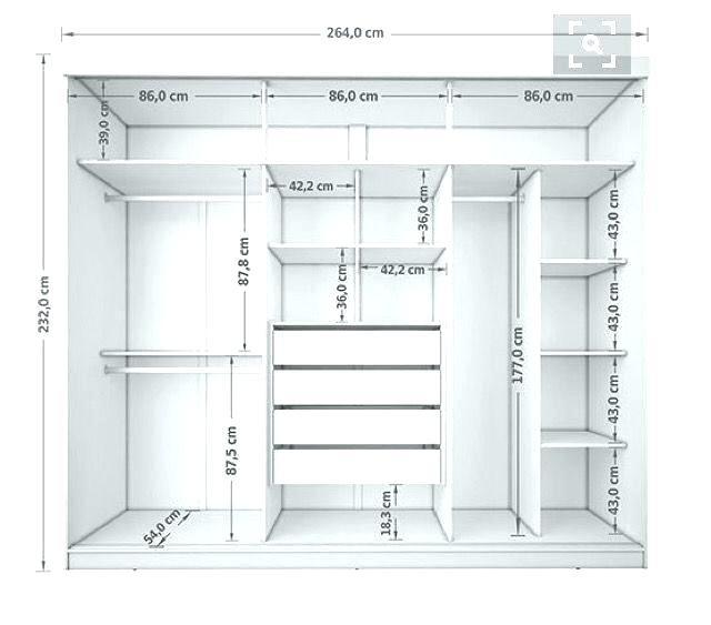 Standard Bedroom Closet Dimensions  Standard Walk In Closet Dimensions Walk In Closet