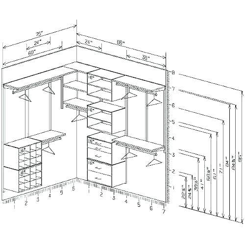 Standard Bedroom Closet Dimensions  Standard Closet Depth