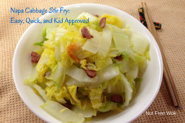 Stir Fry Napa Cabbage  Napa Cabbage Stir Fry Easy Quick and Kid Approved