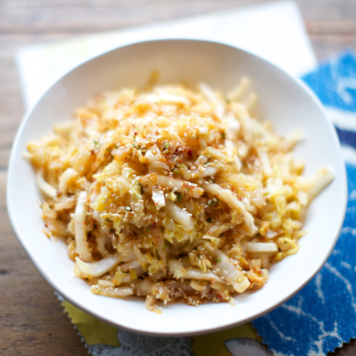 Stir Fry Napa Cabbage  Stir Fried Napa Cabbage with Spicy Garlic Dressing Recipe
