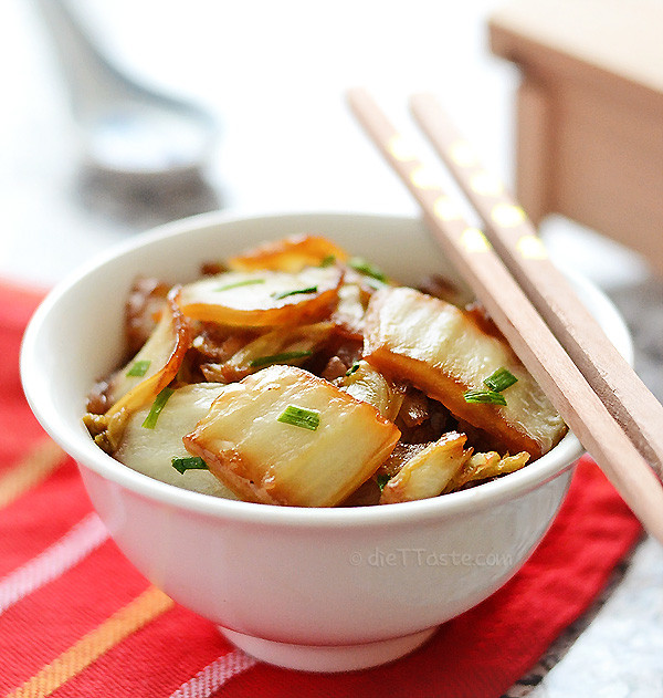 Stir Fry Napa Cabbage  Napa Cabbage Stir Fry Sábor Farms