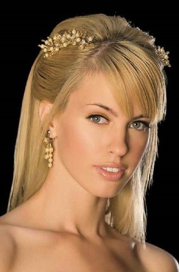 Straight Hairstyles For Weddings  Straight Wedding Hair Inspirations for Your Big Day