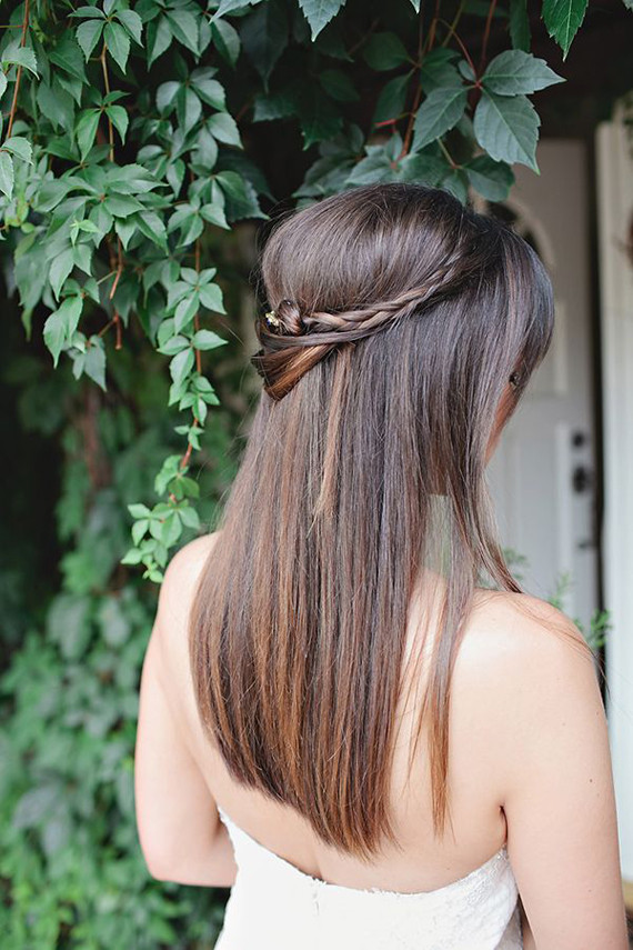Straight Hairstyles For Weddings  Wedding Hairstyles 13 Dreamy Ways to Wear Your Hair Down