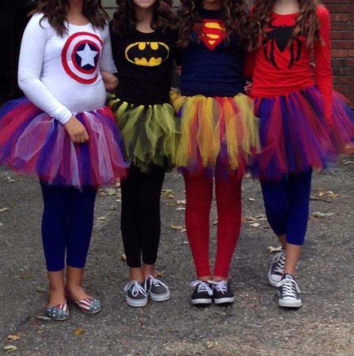 Superhero Costume DIY  Our Group Halloween Costume 2014