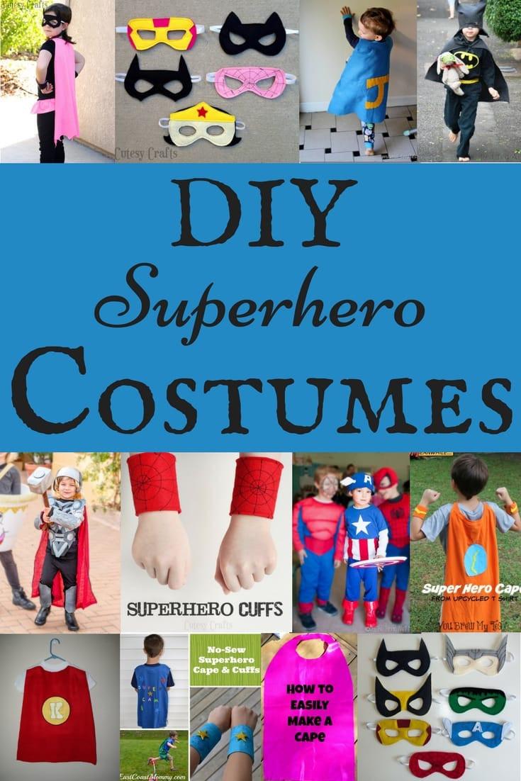Superhero Costume DIY  Felt Superhero Mask Templates Cutesy Crafts