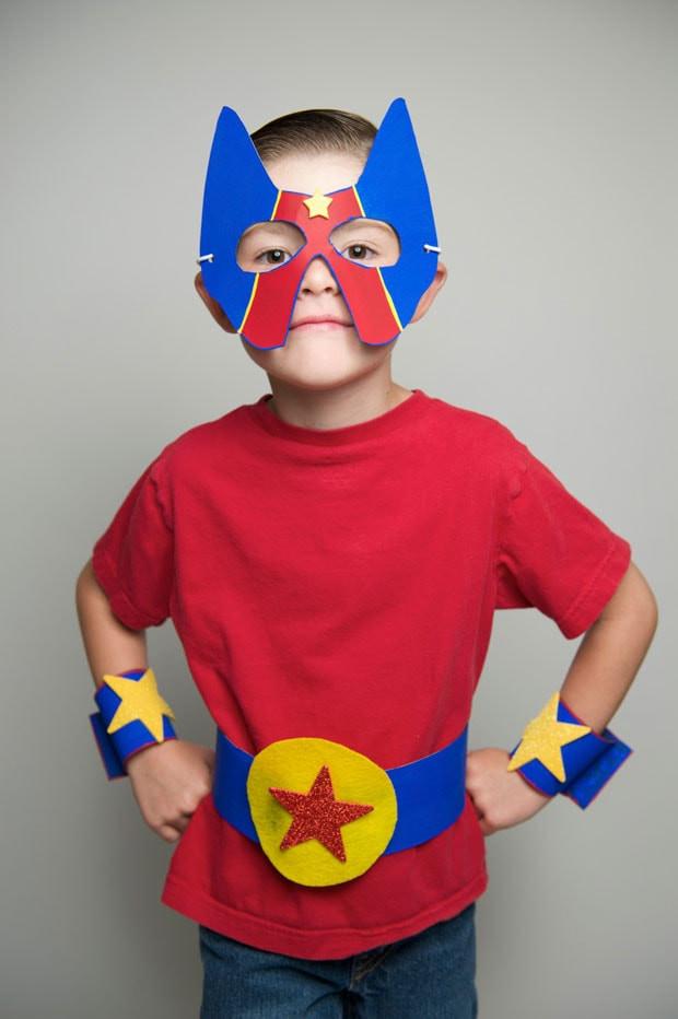 Superhero Costume DIY  Clean Crafts for Kids