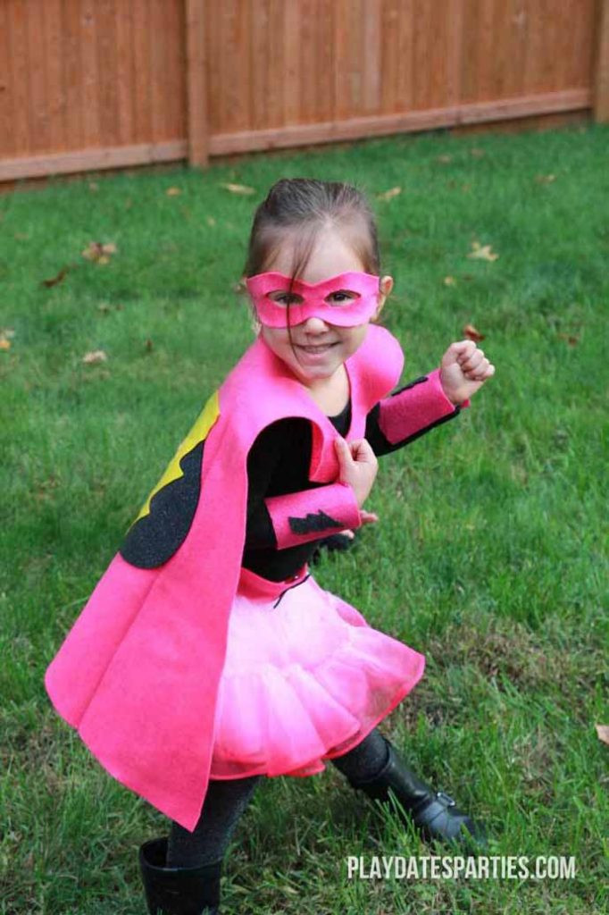 Superhero Costume DIY  15 School Friendly Last Minute Halloween Costumes for Kids