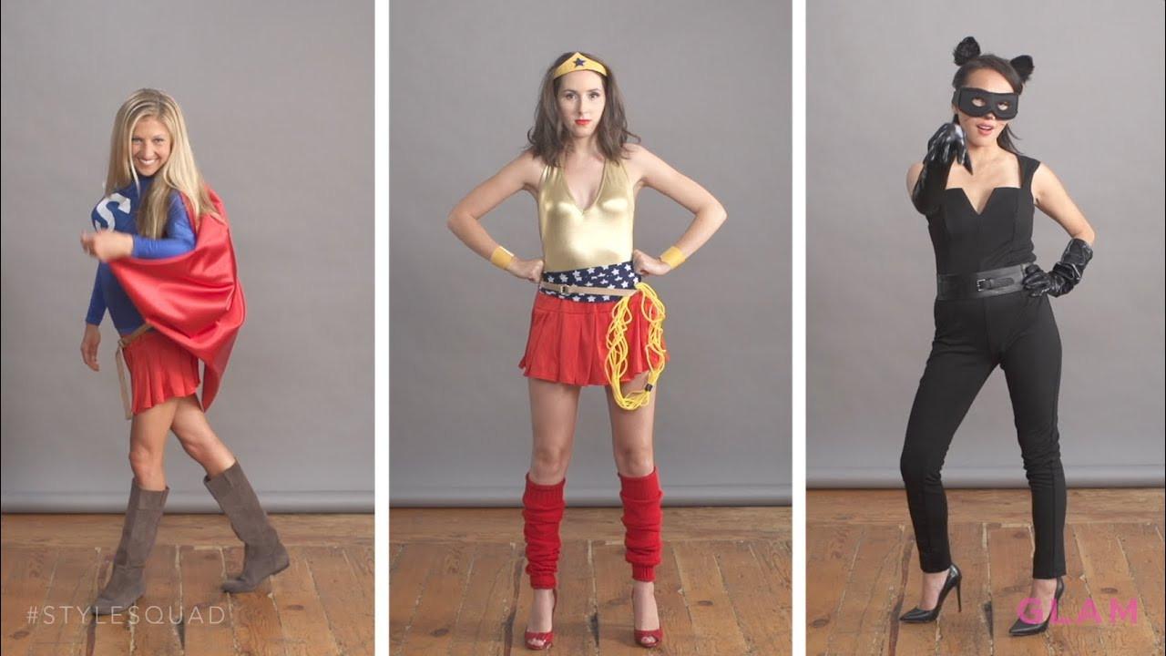 Superhero Costume DIY  DIY Superhero Halloween Costumes