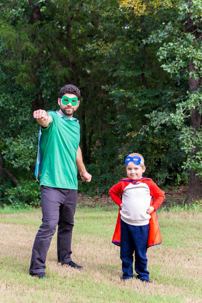 Superhero Costume DIY  Easy DIY Superhero Costume Ideas for the Entire Family