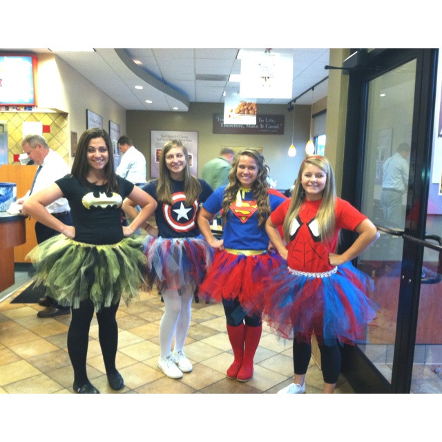 Superhero Costume DIY  DIY superhero costumes Halloween