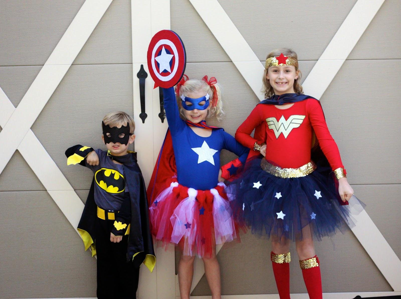 Superhero Costume DIY  Magnolia Mamas DIY Superhero Costumes