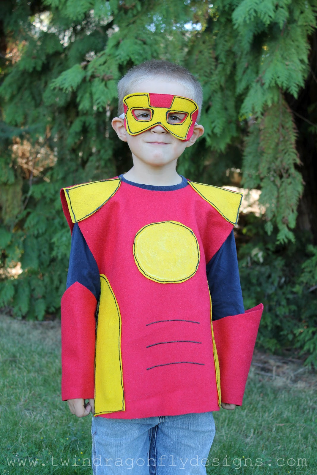 Superhero Costume DIY  Simple No Sew Superhero Costumes — All for the Boys