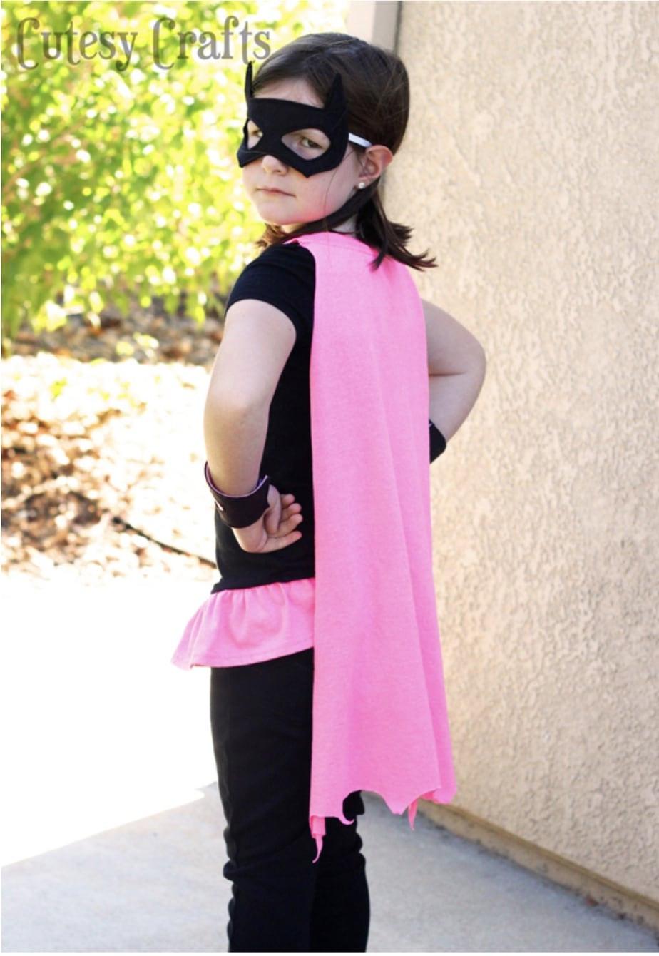 Superhero Costume DIY  DIY Superhero Costumes Cutesy Crafts