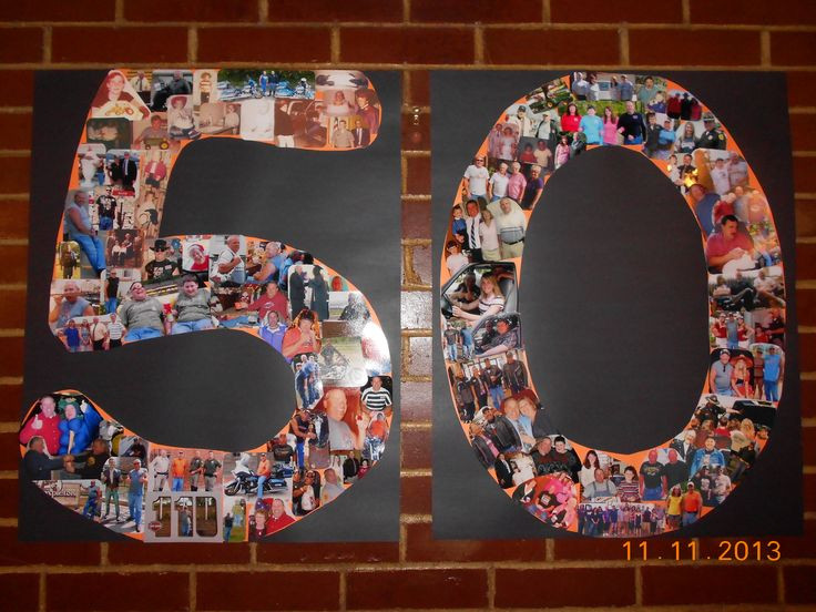 Surprise 50Th Birthday Party Ideas  What I made for my husband s surpise 50th Party
