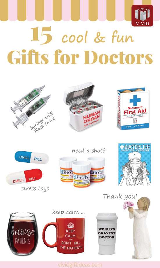 Thank You Gift Ideas For Doctors  Best Doctor Appreciation Gifts 15 fun and creative ideas