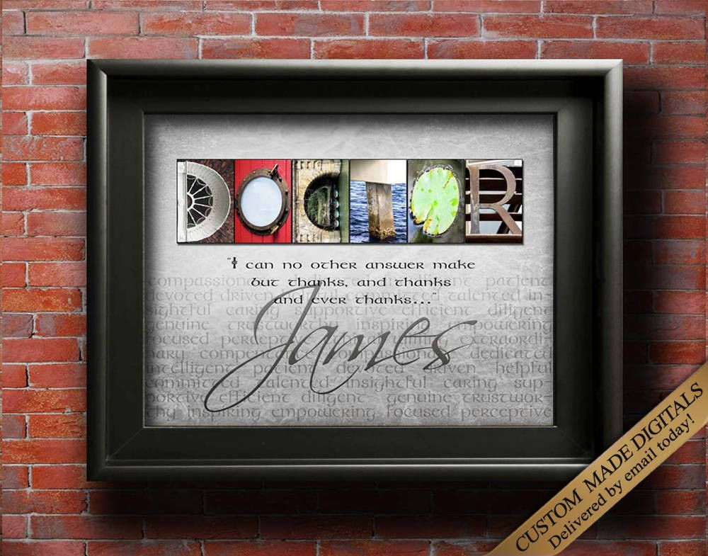 Thank You Gift Ideas For Doctors  Doctor Gift for Doctor Personalized Doctor Gift Doctor
