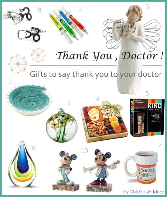 Thank You Gift Ideas For Doctors  Thank You Gifts for Doctors Vivid s