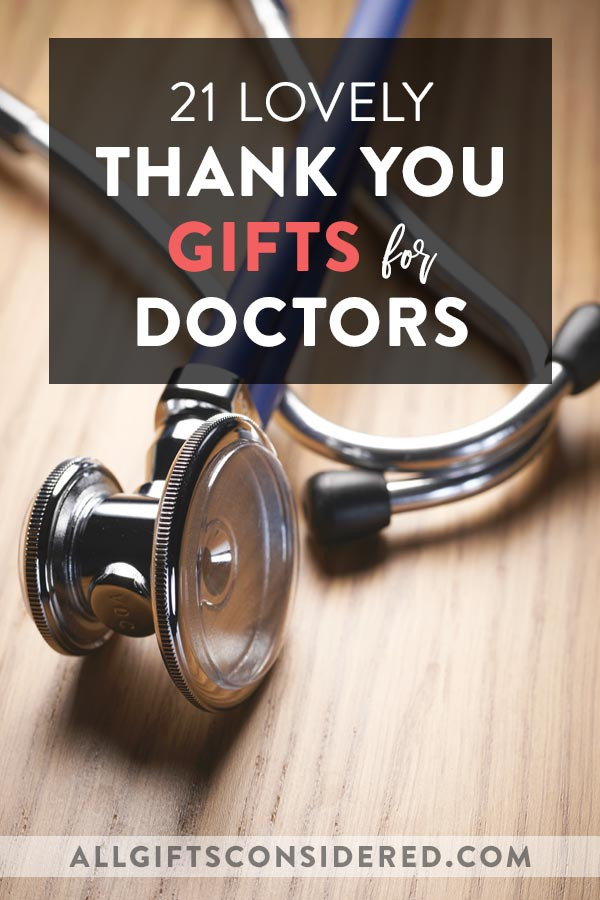 Thank You Gift Ideas For Doctors  21 Thank You Gifts for Doctors to Show Your Appreciation