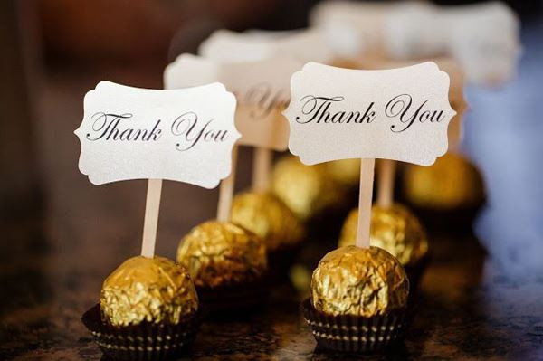Thank You Wedding Gift Ideas  25 INETRESTING THANK YOU WEDDING GIFT FOR THE GUESTS