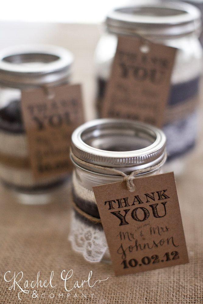 Thank You Wedding Gift Ideas  Thank You Gift Tag