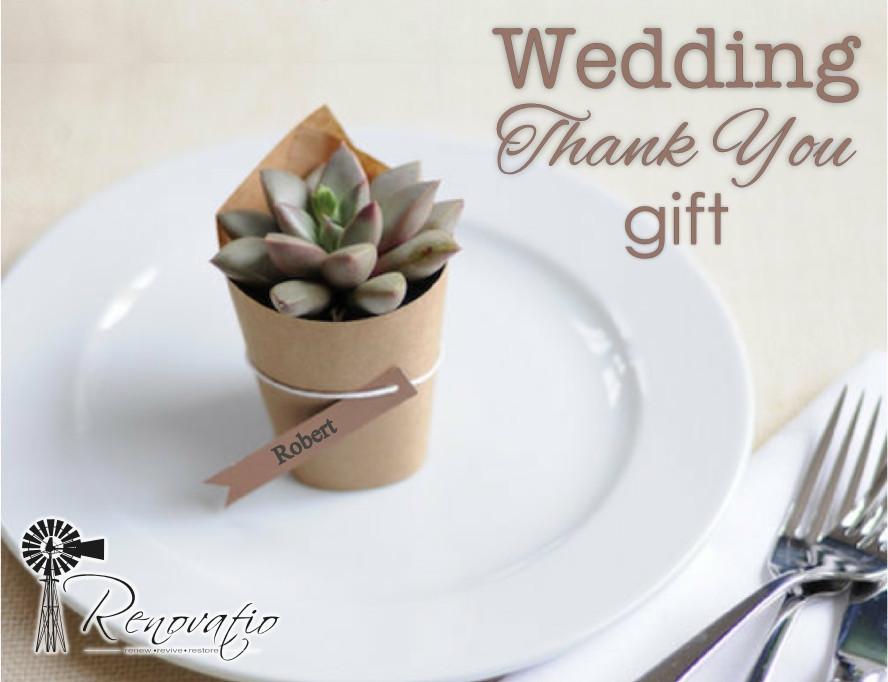 Thank You Wedding Gift Ideas  Wedding Thank You Gifts