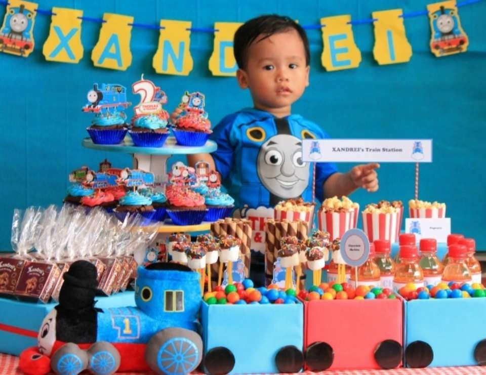 "Thomas The Train Birthday Decorations  Thomas the Train party Birthday ""Thomas Train Birthday"