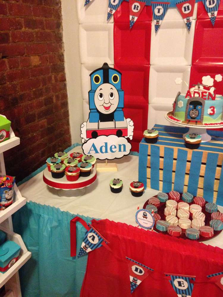 Thomas The Train Birthday Decorations  Thomas the Train party Birthday Party Ideas