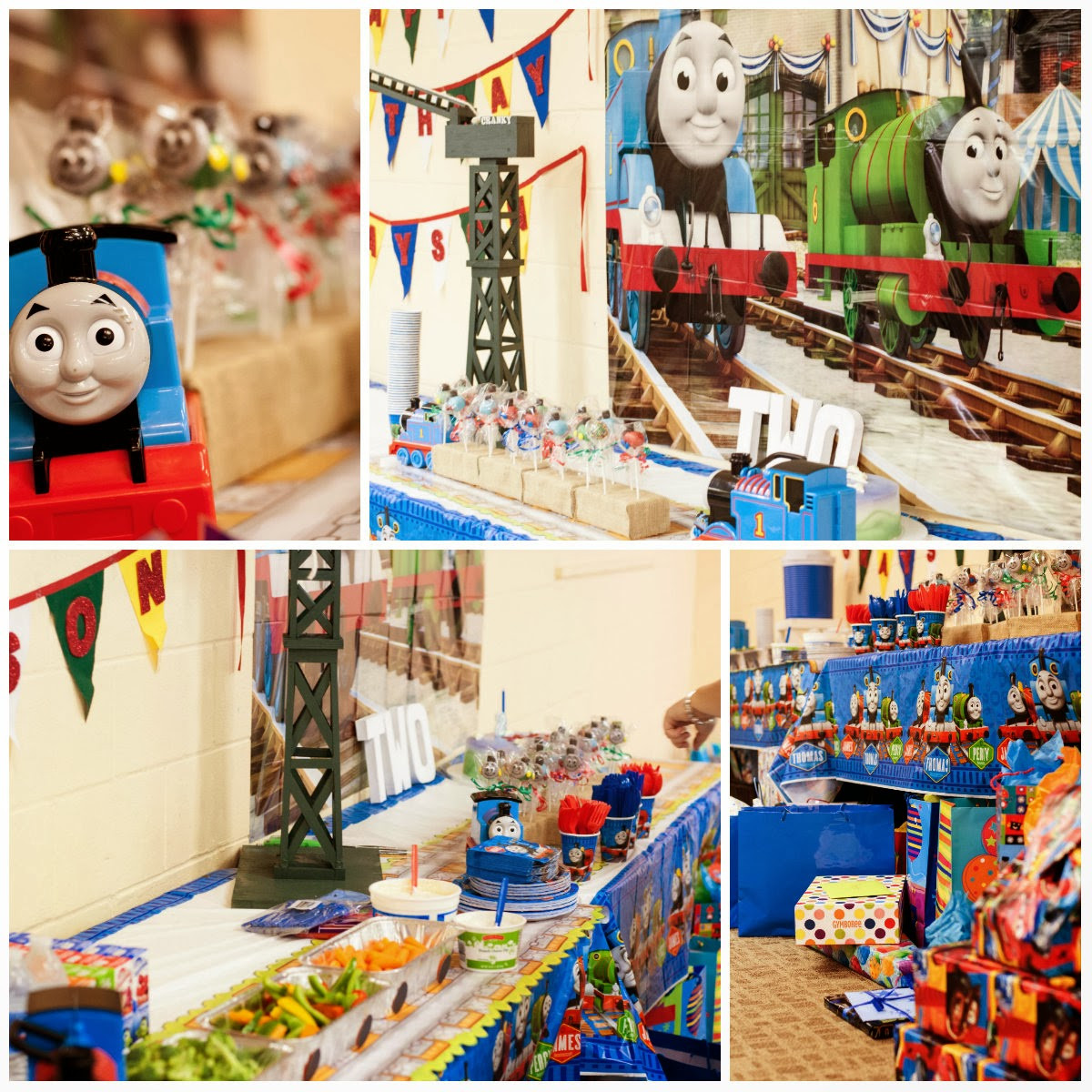 Thomas The Train Birthday Decorations  In this Crazy Life Thomas the Train Birthday Party The