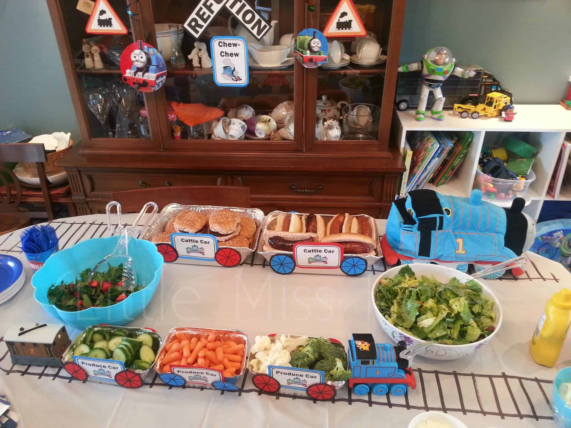 Thomas The Train Birthday Decorations  Kids Birthday Party Ideas Thomas the Train Party Ideas