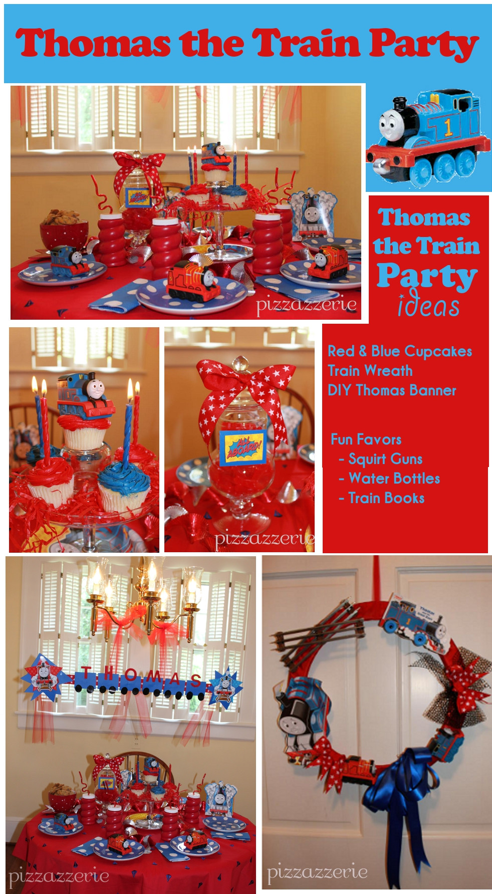Thomas The Train Birthday Decorations  Thomas the Train Party