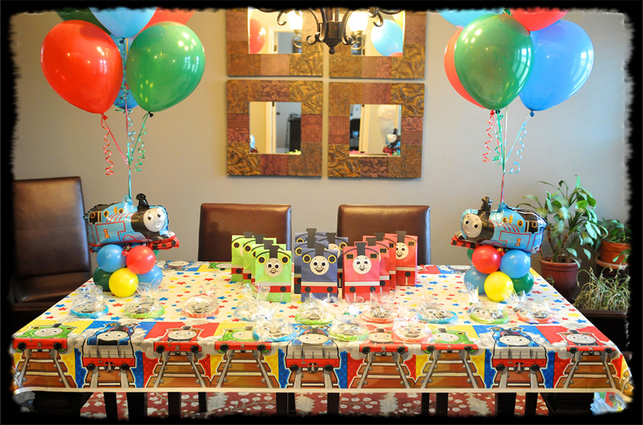 Thomas The Train Birthday Decorations  Thomas The Train Birthday Party Thomas The Train Themed