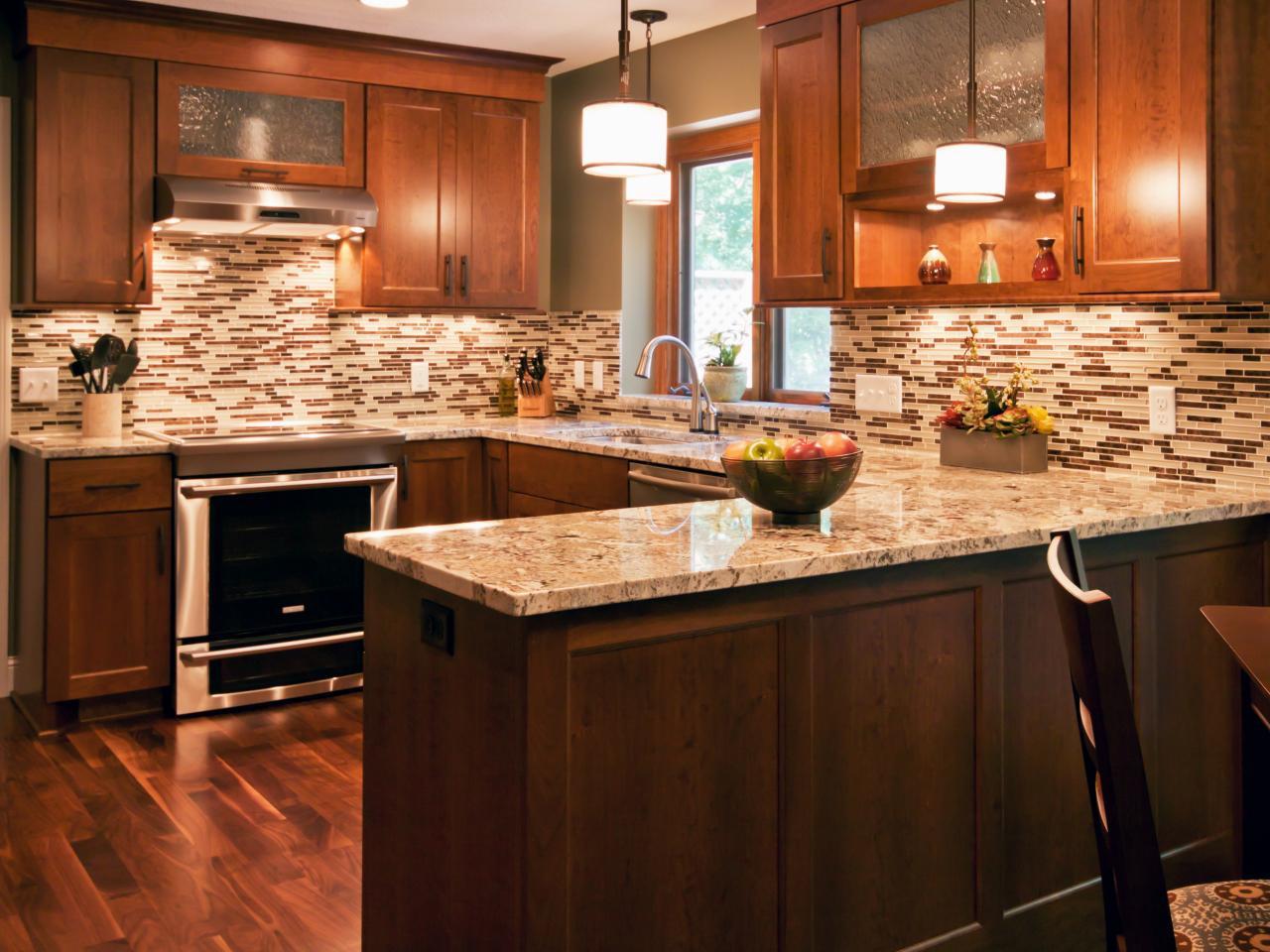 Tile Backsplash Kitchen  75 Kitchen Backsplash Ideas for 2020 Tile Glass Metal etc