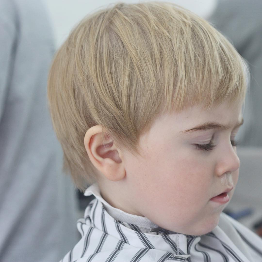 Toddler Hairstyle Boy  Toddler Boy Haircuts Hairstyles 17 Styles That Are Cute